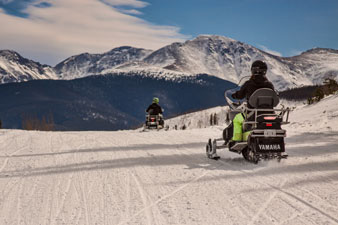 Winter Park Guided Snowmobile Tours